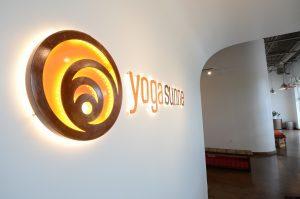 Yoga Sunné Studio entrance